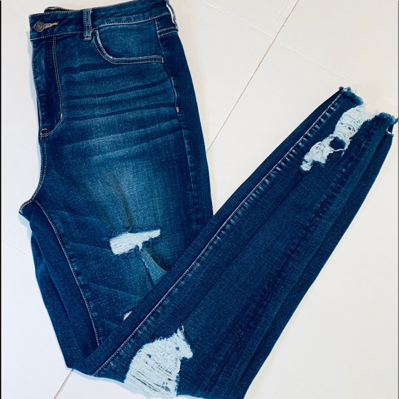 American Eagle Outfitters Jeans American Eagle Ripped Jeans Size 4 Skinny Poshmark